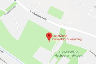 Lasertag Düsseldorf anfahrt_dus