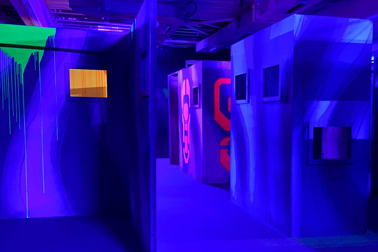 LaserTag Sonderpreis für Bewohner von Leverkusen laserzone_duesseldorf_lasertag_arena_09