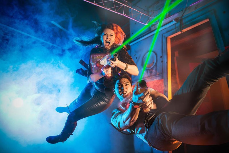 LaserTag Sonderpreis für Bewohner von Gelsenkirchen laserzone_lasertag_fun