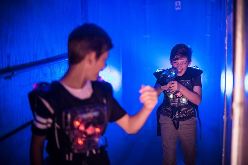LaserTag Sonderpreis für Bewohner von Gelsenkirchen laserzone_lasertag_kids2