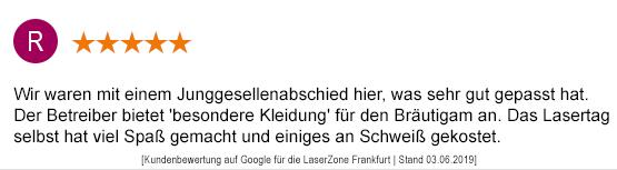 Junggesellenabschied Mainz laserzone_mainz_kundenmeinung_jga05