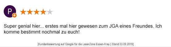 Junggesellenabschied Mönchengladbach laserzone_mg_kundenmeinung_jga01