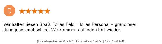 Junggesellenabschied Mönchengladbach laserzone_mg_kundenmeinung_jga02