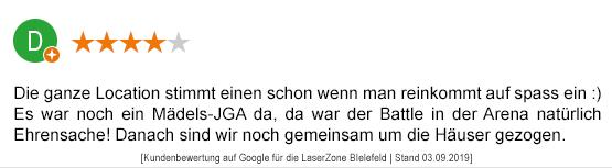 Junggesellenabschied Mönchengladbach laserzone_mg_kundenmeinung_jga06