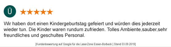 Kindergeburtstag Mönchengladbach laserzone_mg_kundenmeinung_kb05