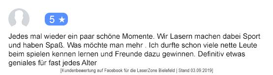Schulausflug Mönchengladbach laserzone_mg_kundenmeinung_sca01
