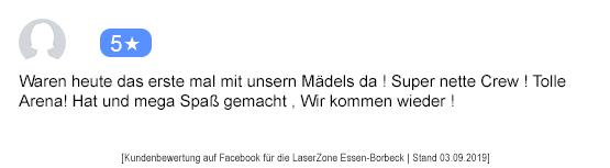 Lasertag Mönchengladbach laserzone_mg_kundenmeinung_st01