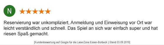 Lasertag Mönchengladbach laserzone_mg_kundenmeinung_st05