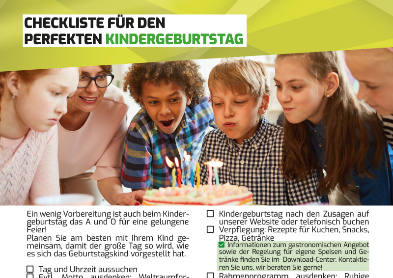 Lasertag Kindergeburtstag Checkliste für Eltern