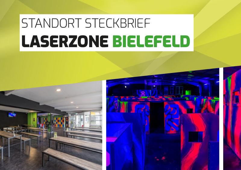 Laserzone Bielefeld Lasertag Standort Steckbrief