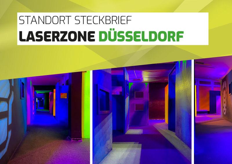 Laserzone Düsseldorf Lasertag Standort Steckbrief