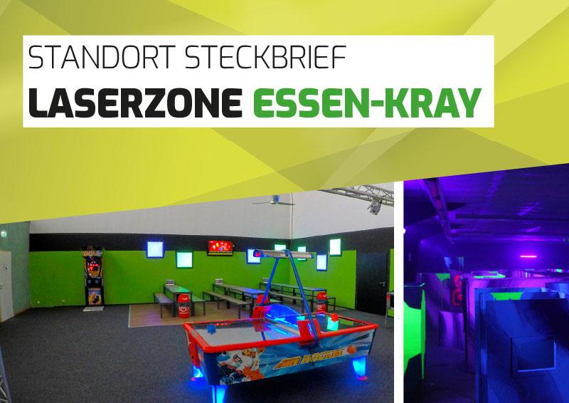 Laserzone Essen-Kray Lasertag Standort Steckbrief