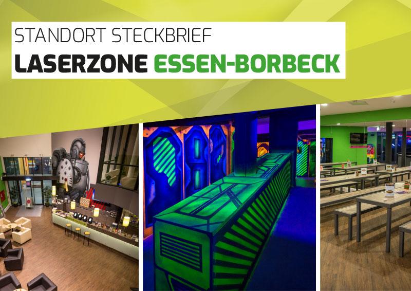 Laserzone Essen-Borbeck Lasertag Standort Steckbrief